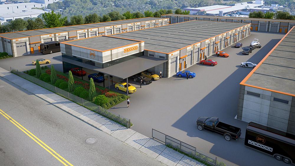 Paddock1 Premium Garage Condos - Full Complex - Tampa, FL